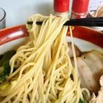 中華そば 澤田屋 - 支那そば(塩) 麺リフトアップ