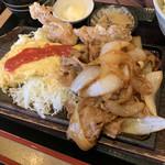餃子酒場 神田今川橋いち五郎 - 焼肉&オムレツ&唐揚
