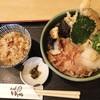 うどん ゆきの - 料理写真:天おろし&かやくご飯