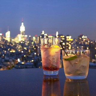 最上階から望む横浜の絶景