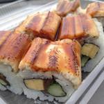 海鮮丼 『魁』 - 料理写真:穴子ロールの『照り』!