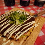マリブ食堂 - 新鮮な魚介を使った『特選!!イカ玉』