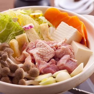 濃厚京赤地鶏の水炊き鍋
