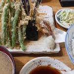 天鈴 - 料理写真:天ぷら定食