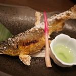 とんぼ - あゆの塩焼き