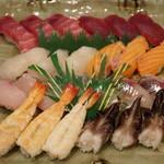 とんぼ - 上寿司3人前
