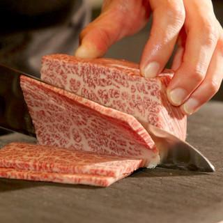 最高級の味わいを心行くまで◆オーナー目利きのA5ランク和牛肉
