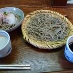 蕎麦切り 彦兵衛 - 二味そば おろしとざる  1200円
