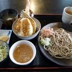 そば処裕心 - ミニ天丼セット ¥980