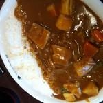 11445512 - H.24.2.2.昼 グランドマザーカレー+納豆+4辛+400g=1,110円