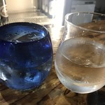 日本酒とビオワイン 立呑 奢酌楽 - おかわりも安定ね