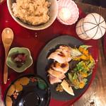 米や松倉 - 鳥麹焼き御膳