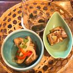 米や松倉 - 前菜の籠