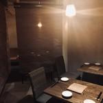 糖質制限レストラン ニコキッチン - 内観写真:半個室もご用意出来ます。6名様まで