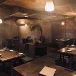 糖質制限レストラン ニコキッチン - 内観写真:大人な宮崎県をイメージしています。