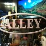ALLEY - カウンター前の遮蔽ガラス