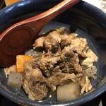 焼肉 おくう - タンコロの塩煮込み