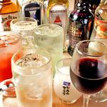 【期間限定】飲み放題プレミアム<120分制L.O.90分 グラス交換制>