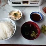 きばらし食堂 - 定食