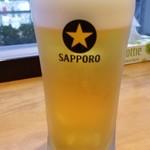 翠葉  - 生ビール 518円