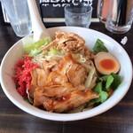 麺屋 承太郎 - 料理写真:冷やし中華。29の日で、肉増し!