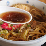 秋元食堂 - 和風ツユは、色が黒くても味は優しい