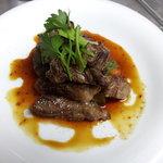 ダイニング ベジー - AUS産とうきび牛のカットステーキ