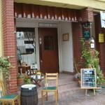 ピッツェリア デ ナプレ - お店の入口