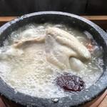 藤野倶楽部 百笑の台所 - サムゲタンアップ
