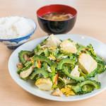 いちの屋 - ゴーヤチャンプル沖縄の日差しをたっぷり吸収、栄養満点