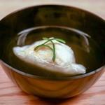 緒方 - ☆鱧餅の椀物
