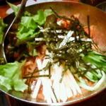 ホルモン青木 - ビビン麺
