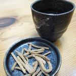 11448236 - 蕎麦かりんとうと蕎麦茶