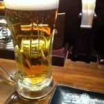 とりしん - 生ビール350円