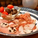 orso - 冷たい肉の盛り合わせ