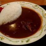 道の駅 龍神 - 和風猪カレー 700円