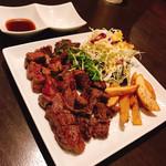 鉄板焼×ダイニング かのん - 特製ヒレ肉テンダーロインステーキ