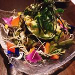 鉄板焼×ダイニング かのん - アボカドサラダ