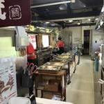日本一たい焼き - 調理場をパシャ