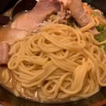 114486655 - 古潭ラーメンの麺