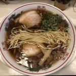 大醤軒 - ストレート平打ち中太麺