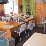 珈琲豆カノン - お店はとても小さい