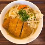 西土佐食堂 - 料理写真:野菜ラーメン カツ入り