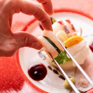 【月替り会席】熟練の料理人が腕をふるう季節の会席をご提供