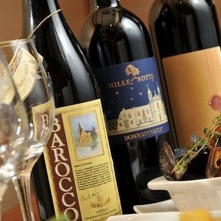 シチリアワインに特化したワインリスト