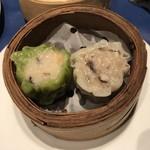 中国料理 The Orchid - 2種蒸し点心