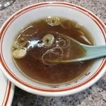 114495135 - セットのスープは昭和な味♪