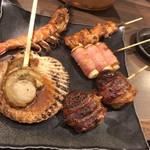 海鮮・串焼き 満天 - 串焼き