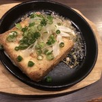 海鮮・串焼き 満天 - 厚揚げ