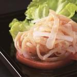 中国料理 龍皇 - 料理写真:くらげの冷菜トマト添え